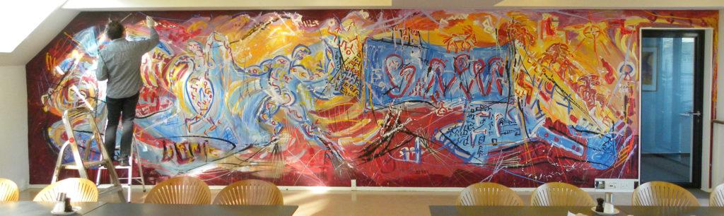 Vaegmaleri_wallpainting_anerkendt_kunstmaler_Mikkel_urup_tilbud